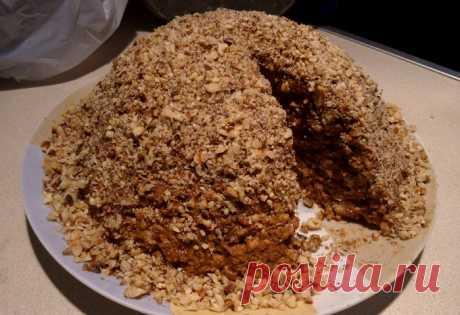 Торт из печенья Торт из печенья Простой и неприхотливый рецепт торта из печенья со сгущёнкой...