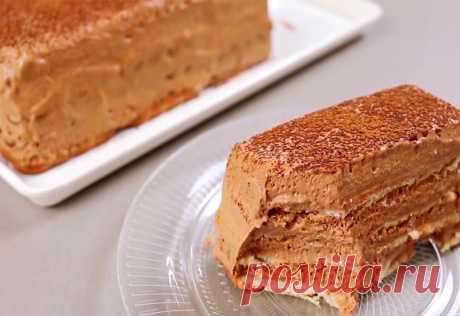 Изумительный, нежнейший, шоколадный торт без выпечки с пышным кремом Тает во рту!