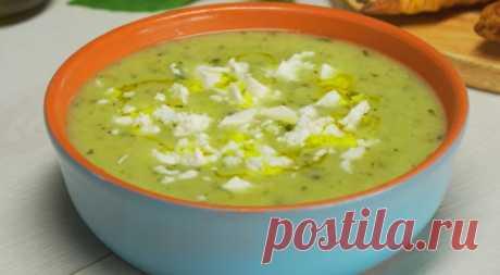 Обалденный кабачковый суп-пюре
