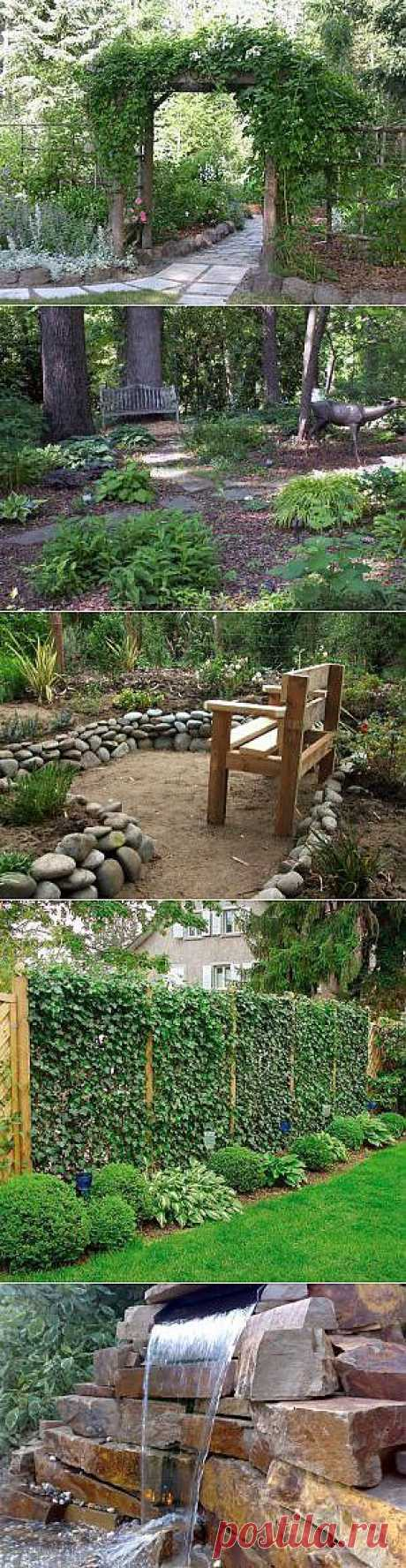 Выпуск №60 - Ландшафтный дизайн своими руками - идеи для дизайна сада