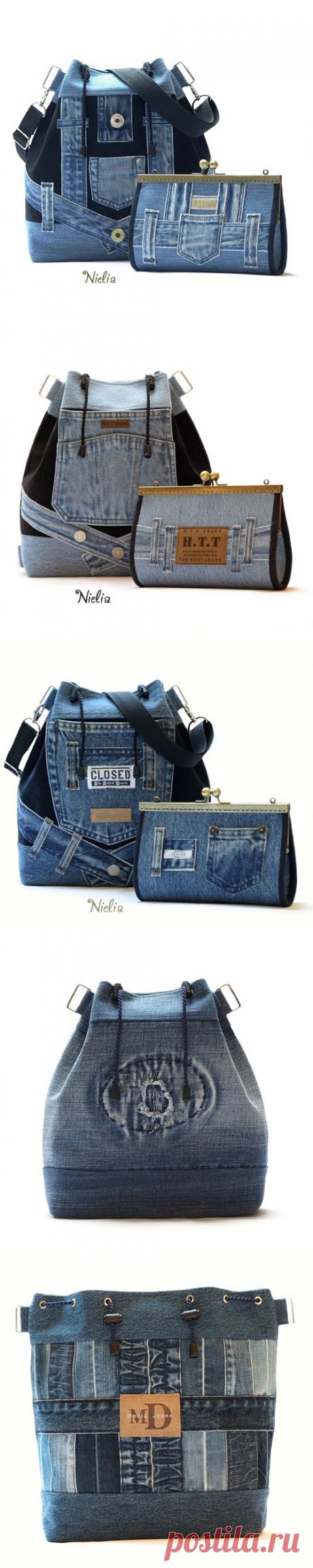 21636aaf815c Nielia - сумки из джинсов (часть4) / Переделка джинсов / ВТОРАЯ УЛИЦА