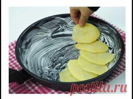 Такой хорошей картошки я еще не ела! Ужин готов за 10 минут!