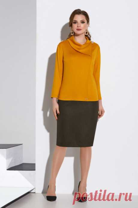 Коллекция одежды для полных девушек белорусской компании Lissana осень-зима 2020-21