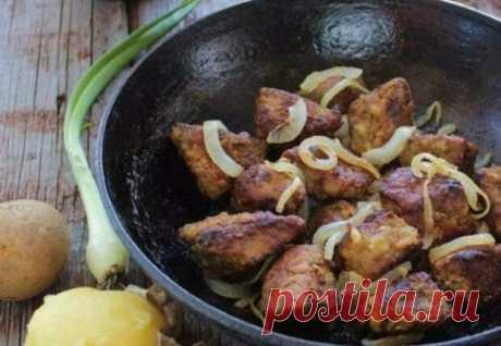 ¡El hígado ideal, que se deshace en la boca - suave, jugoso y tierno! ¡Todo el secreto en la marinada!
