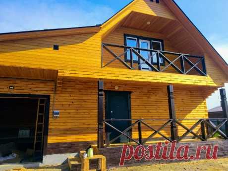 Продаётся новый, двухэтажный дом площадью 100 кв.м.