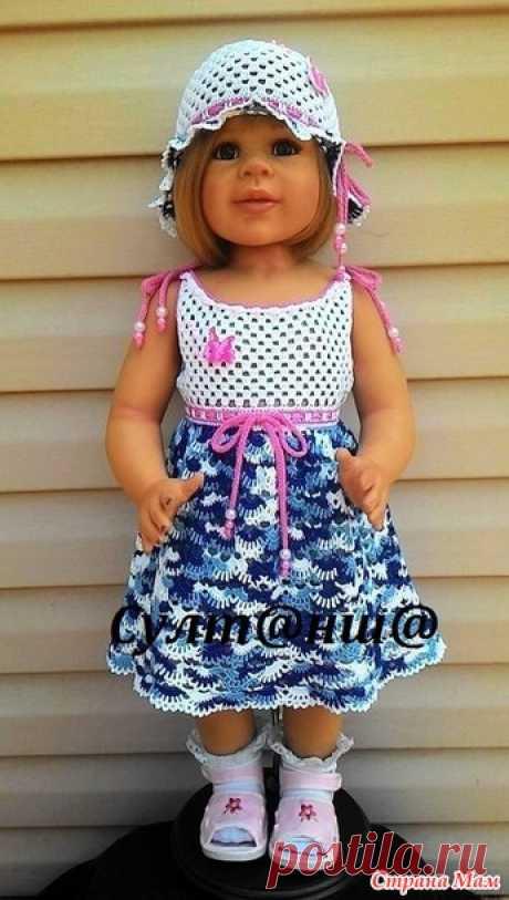 Летний наряд для девочки - Вязание - Страна Мам