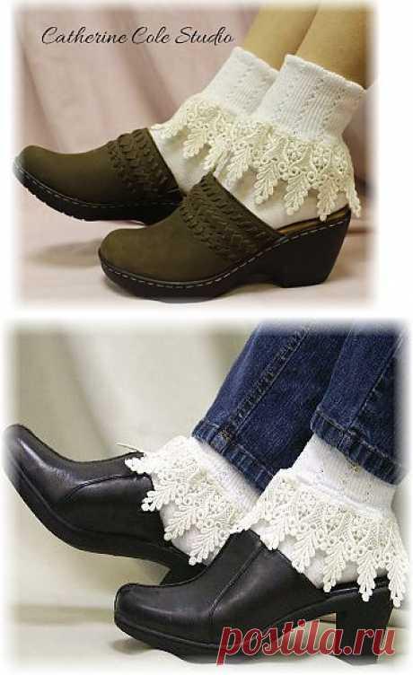 Lace Socks signature lace socks women socks by CatherineColeStudio