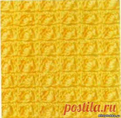 Узор для вязания крючком №31 - Вязание крючком. Узоры