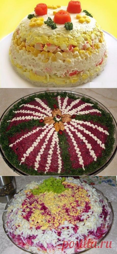Как приготовить топ-6 оригинальных салатов на праздничный стол - рецепт, ингредиенты и фотографии