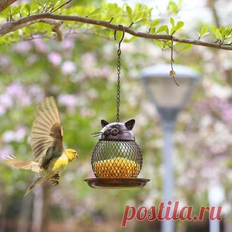 Кормушка для птиц украсит ваш сад и птичек накормит  https://s.click.aliexpress.com/e/dDvpA0Oc?product_id=..  #кормушка #дача #АлиНаходка