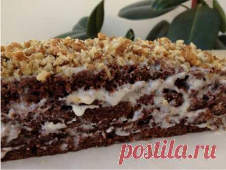 Шоколадный торт на кефире «Фантастика» Очень простой и необычный рецепт вкусного торта. Приготовить сможет любой. Попробуйте обязательно! Ингредиенты: Для теста: ●Кефир или простокваша -300 г ●Сахар – 1 стакан ●Яйца – 2 шт. ●Растительное масло – 2 ст. л. ●Какао – 2-3 ст. л. ●Сода – 1 ч.л. ●Мука – 2 стакана Для крема: 1- вариант – сметанный крем ●Сметана – 400 г ●Сахар – 1 стакан ●Масло сливочное -200 г 2- вариант – заварной крем ●Яйца – 2 шт. ●Сахар – 300 г ●Мука-2 ст. л (с горкой) ●Молоко –