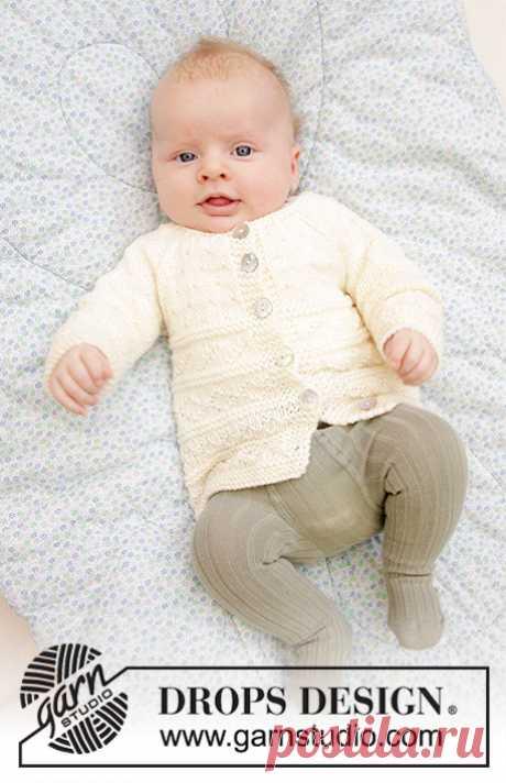 Детская кофточка Precious Moments - блог экспертов интернет-магазина пряжи 5motkov.ru