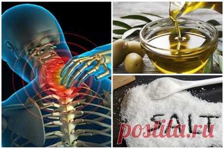 Смешайте немного соли и оливкового масла, и вы не будете чувствовать боль в течение следующих 5 лет!