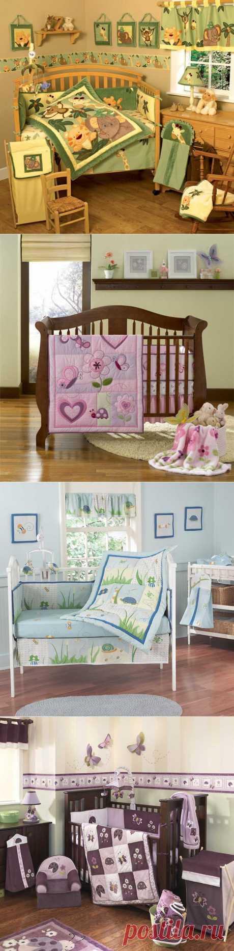 Интерьер детской комнаты. Молодые мамочки, ломитесь сюда за идеями!.