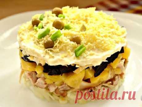 Салаты из курицы с черносливом - 10 вкусных рецептов (фото)