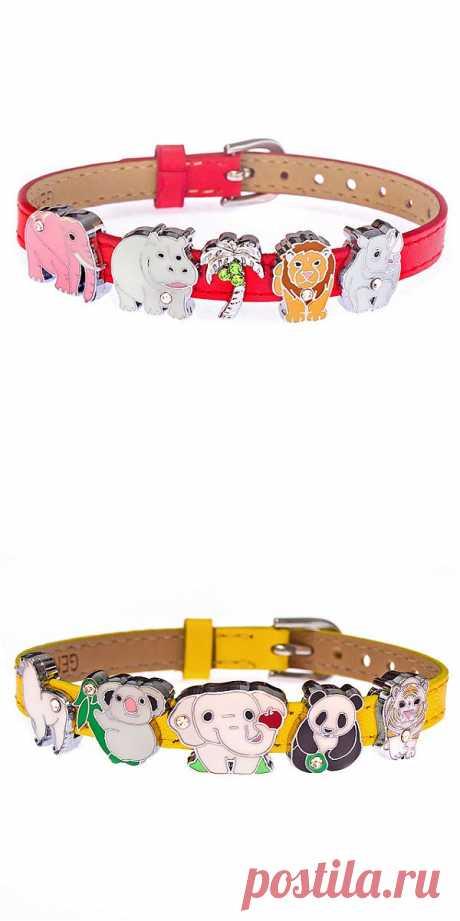 Детские украшения - Магазин уникальных аксессуаров only1you/ Браслет Африка и браслет зоопарк