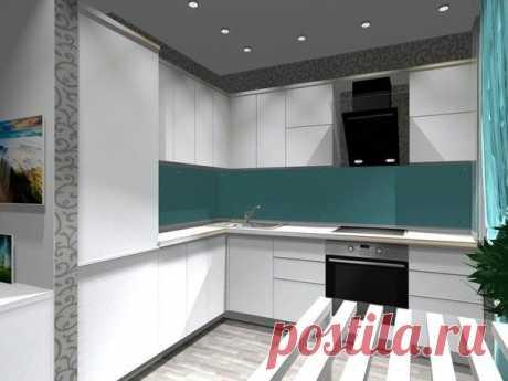 Проект кухни совмещенной с гостиной для хрущевки - Дизайн интерьеров | Идеи вашего дома | Lodgers