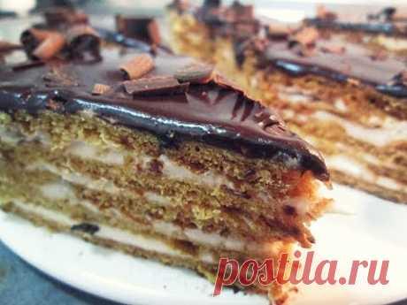 PIGEON'S MILK cake without souffle the Armenian recipe from Inga Avak