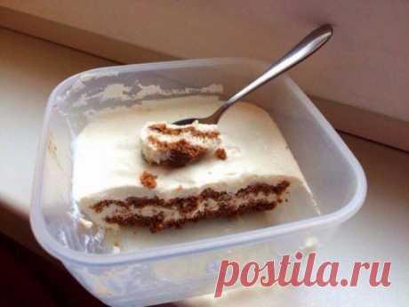 Нежный десерт «Облако счастья». Готова есть его каждый день