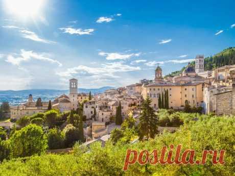 10 причин побывать в Умбрии, зелёном сердце Италии | Италия для меня | Яндекс Дзен