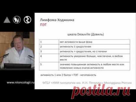 Классическая лимфома Ходжкина. Рецидив. Резистентность. Зюзгин И.С. - YouTube