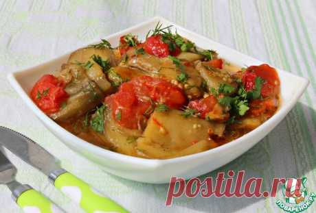 Баклажаны по-бакински Кулинарный рецепт
