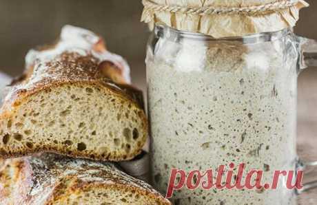 Вечная закваска для хлеба без дрожжей - проверенный рецепт | Рецепты: вкусно, быстро, полезно | Яндекс Дзен