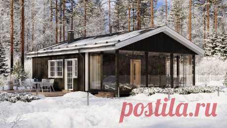 Какие дома сейчас строят в Европе: подборка оптимальных проектов до 100 м2 | Дом на Безымянной | Яндекс Дзен