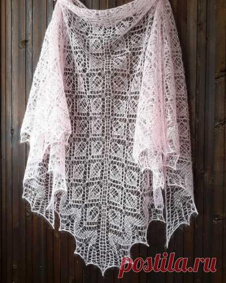 Ravelry: Shawl «Svetlana» pattern by Inna Protko