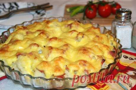 Ароматная запеканка из цветной капусты без лишних хлопот: прекрасно подойдет для тех, кто не любит долго готовить - appetitno.net