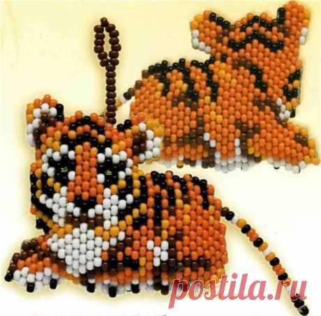 ¡Un pequeño cachorro de tigre »el Mundo de los maestros biseropleteniya!