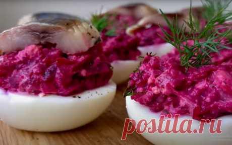 Салат «Ленивая шуба», с яйцами и зеленью