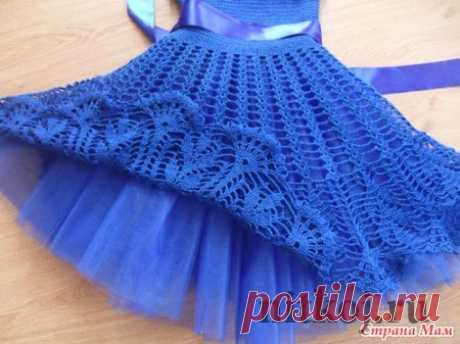 Детское платье крючком от TATIMAMA » Ниткой - вязаные вещи для вашего дома, вязание крючком, вязание спицами, схемы вязания