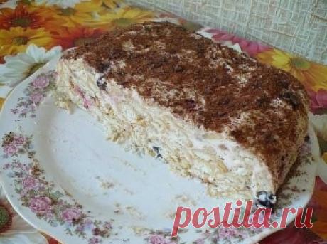"""Торт """"Скорый"""" без выпекания"""