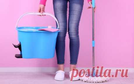 Советы, которые помогут легче и лучше вымыть полы — Полезные советы