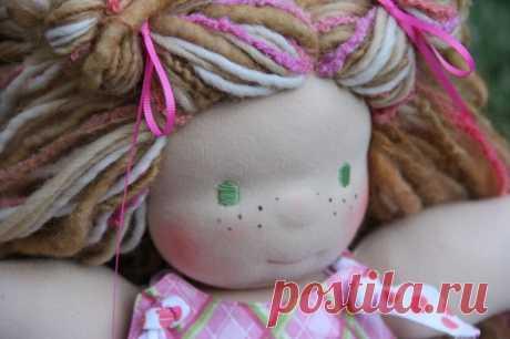 Как сшить вальдорфскую куклу своими руками: МК с выкройками