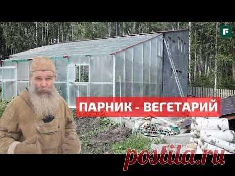Парник - вегетарий - скотник на солнечной тяге и законах физики // FORUMHOUSE