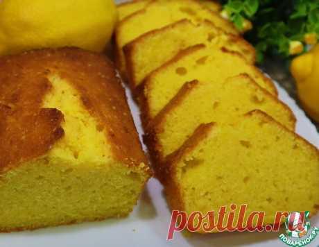 Влажный лимонный кекс – кулинарный рецепт