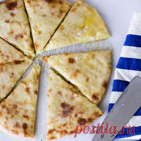 Тесто для осетинских пирогов.