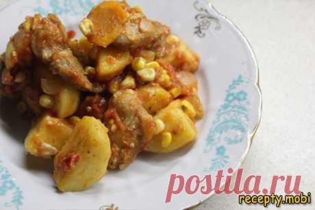 Овощное рагу с картофелем - пошаговый фоторецепт