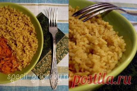 — Пряный рис: рецепт с пошаговыми фото