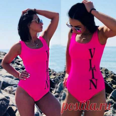Розовый купальник | красивые и модные купальники из новой коллекции смотри на сайте. Скидки.