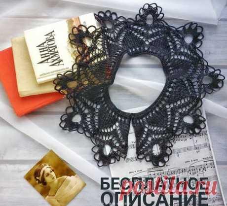 Воротничок спицами, пошаговое описание, Вязание для женщин