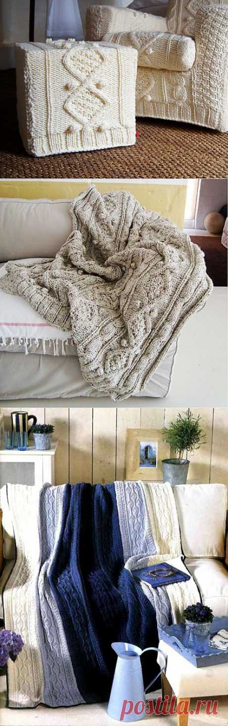 Knitted delicacies for the house (photoselection) \/ Knitting \/ the Fashionable website about stylish alteration of clothes and an interior