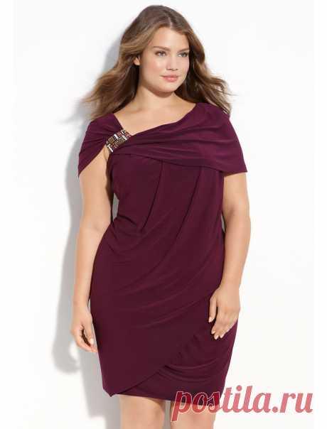 """Фасоны платьев для полных женщин: фото, правила выбора, модели для леди с животом — Имя """"Мода"""""""