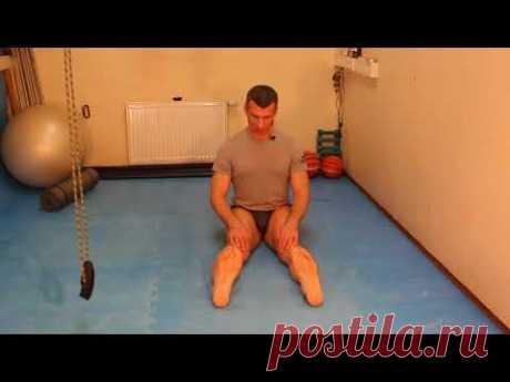 Восстановление коленных суставов  Самостоятельно  Упражнение 1