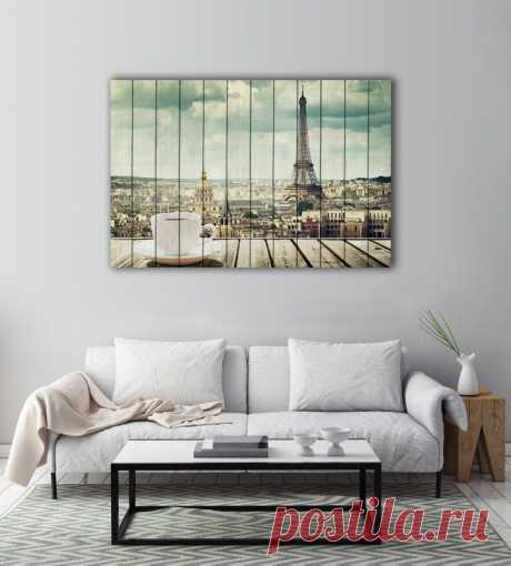 "Картина ""Утро в Париже"" по цене от 5900 руб. Размеры: 60x90 см, 80x120 см, 100x150 см, 120x180 см. Срок изготовления: 2-3 дня."