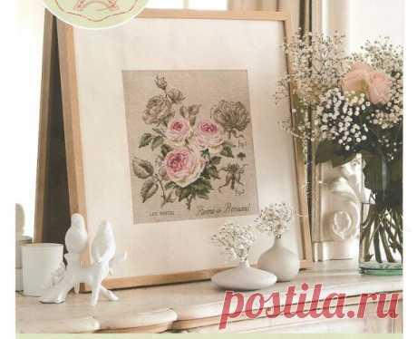 Розы / Схемы вышивки крестиком / PassionForum - мастер-классы по рукоделию
