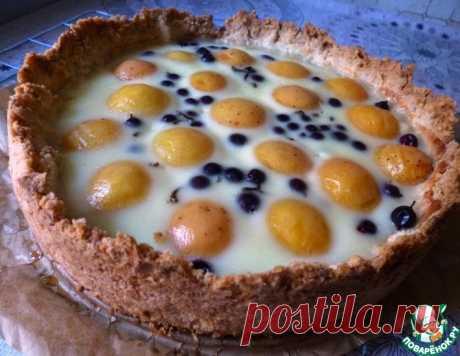 Пирог с Абрикосом и Смородиной – кулинарный рецепт