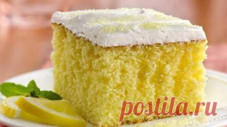 Лимонный пирог — десерт, который придется по вкусу всем поклонникам оригинальной выпечки